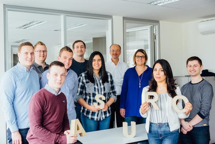 Das asuro-Team in Frankfurt