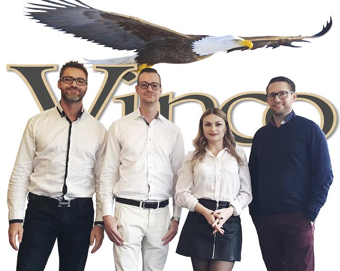 Das Team bei Vinco24