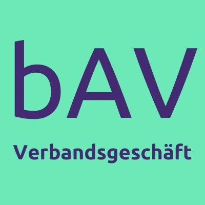 bAV Verbandsgeschäft