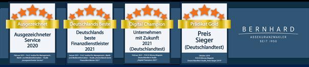 Bernhard Assekuranz Auszeichnungen